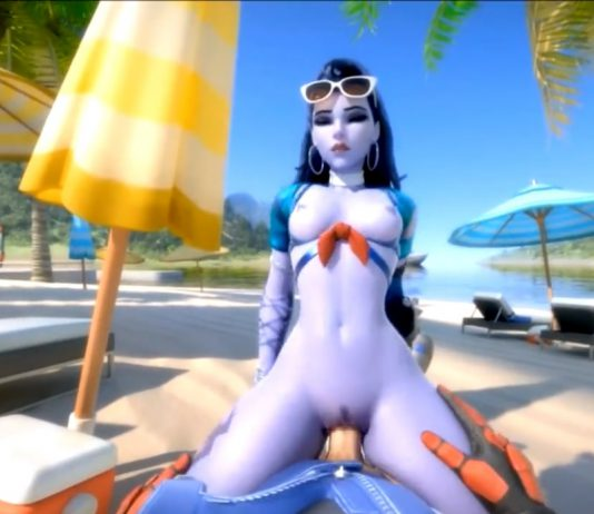 WidowMaker Overwatch Porn experience